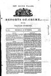 NSW Reports of Crime Thursday 22 Nov 1860 - Bundarrah