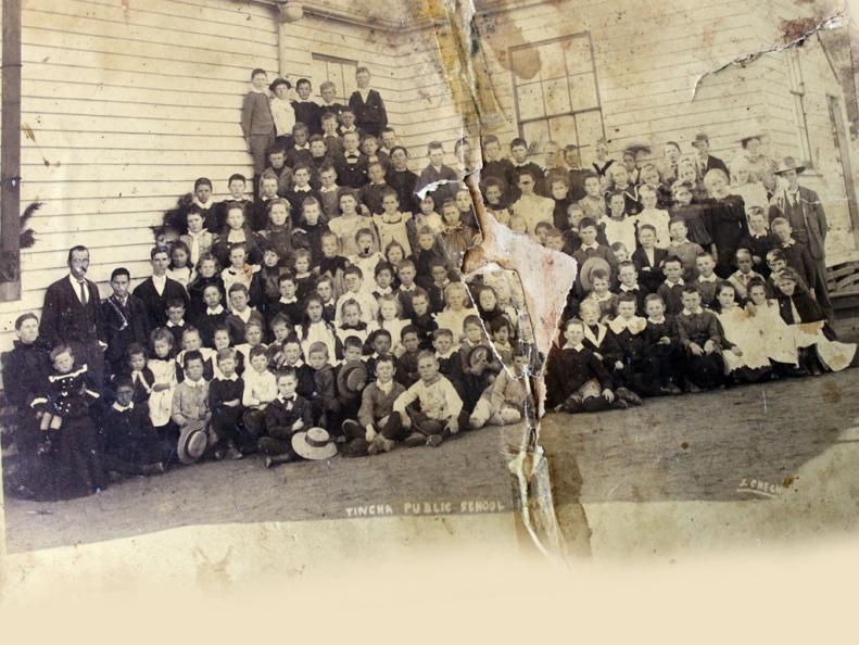 Tingha Public School in 1899