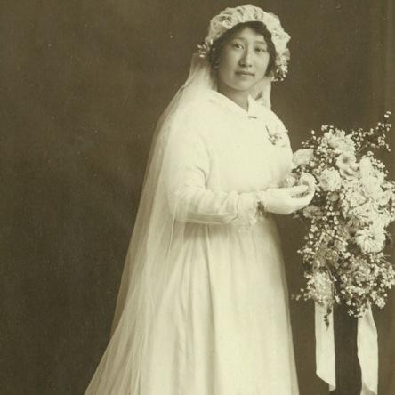 Esther Grace Kee Chong wedding Portrait