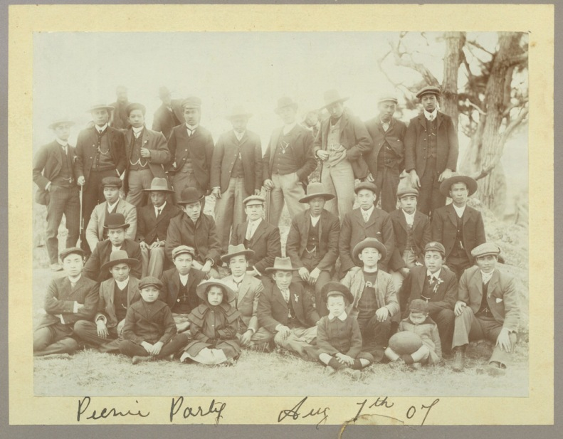 Picnic Party Aug 7th 1907