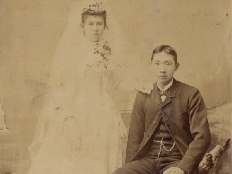 Lee Kee Chong and Agnes Youpaung