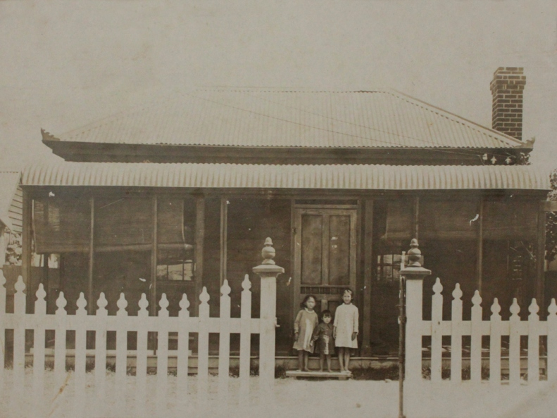 Lee family home in Moree 1905-1919